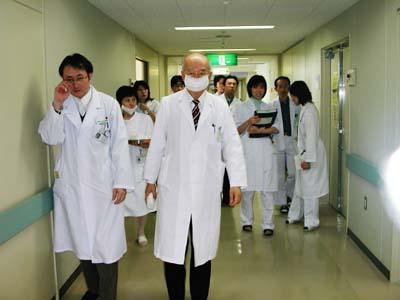 吉川邦彦教授最終外来&回診